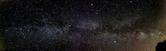 Чумацький Шлях - наша рідна галактика. Джерело ілюстрації: http://www.wikipedia.org