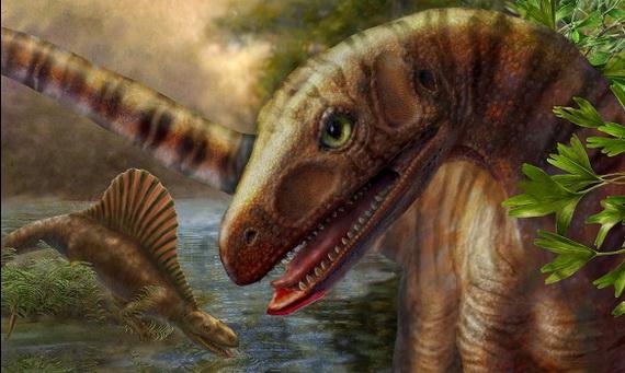 Художнє бачення Асілізавра древнього (Asilisaurus kongwe Nesbitt, Sidor, Irmis, Angielczyk, Smith et Tsuji, 2010). Джерело ілюстрації: www.timesonline.co.uk