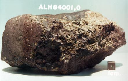 Метеорит ALH 84001, знайдений у грудні 1984 року в Антарктиді