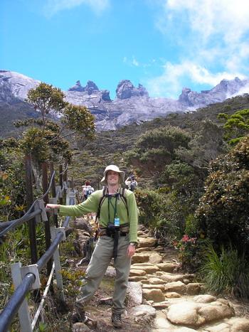 Rocky peaks of Kinabalu