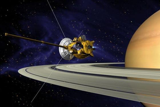 Космічний апарат Кассіні (графіка)