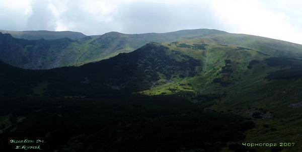 Альпійські луки Чорногори (Українські Карпати) - східна межа поширення Туруна Гампея