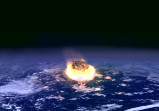 Падіння астероїда