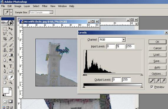 А ось так усе воно виглядає у Photoshop (світлина надана нашим читачем yAnTar - http://yablog.org.ua/)