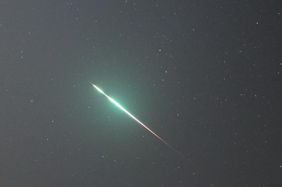 Слід згорілого метеору