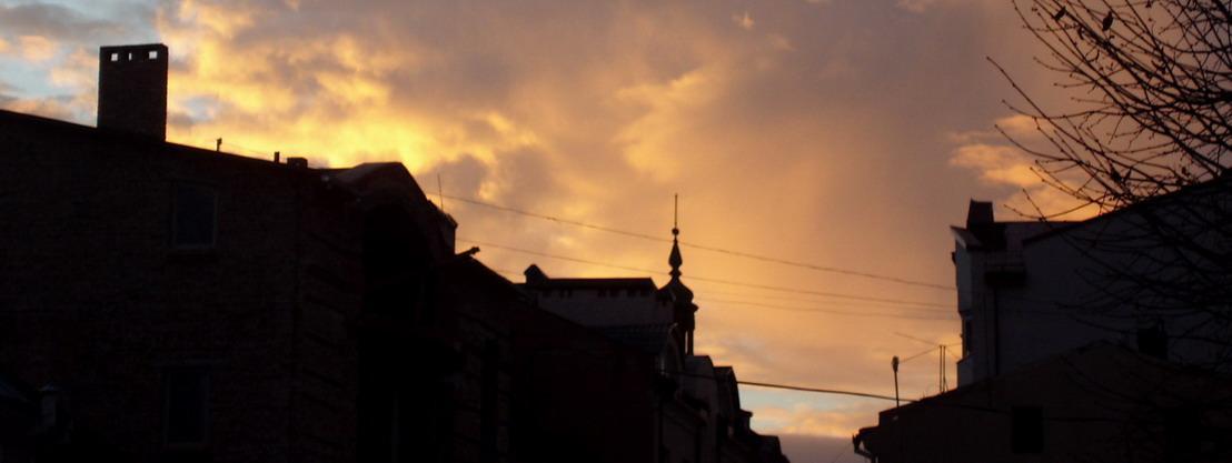 Вечірня зоря над Станіславовом