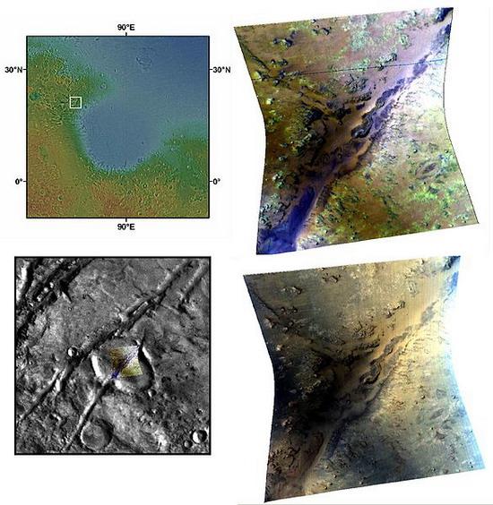 Канави Нілі - одна із місцин Марсу, звідки виділяється метан