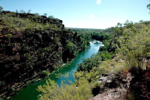 Ландшафт Кінслендського національного парку - місця проживання Качкодзьобів. Джерело: http://www.olsvik.info