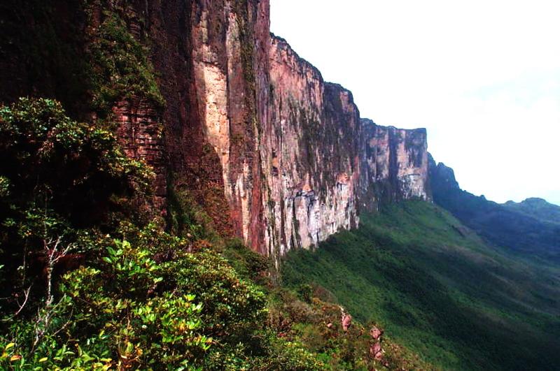 Тепуя Рорайма - одна із найвідоміших тепуй Ґвіанського плоскогір'я