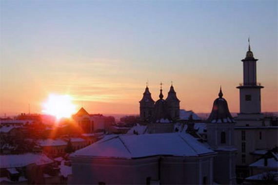 Вечір над Станіславовом
