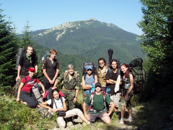Учасники ІХ польових ентомологічних студій у Карпатах, 2008 рік