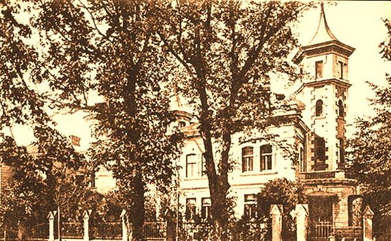 Вілли в липах - дерева, що на світлині початку ХХ століття, квітують і у 2009 році