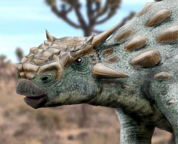 Мінотаврозавр Рамахандра (Minotaurasaurus ramachandrani Miles et Miles, 2009). Джерело: http://www.viviplanet.com
