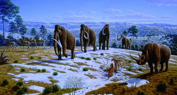 Краєвид плейстоценового періоду